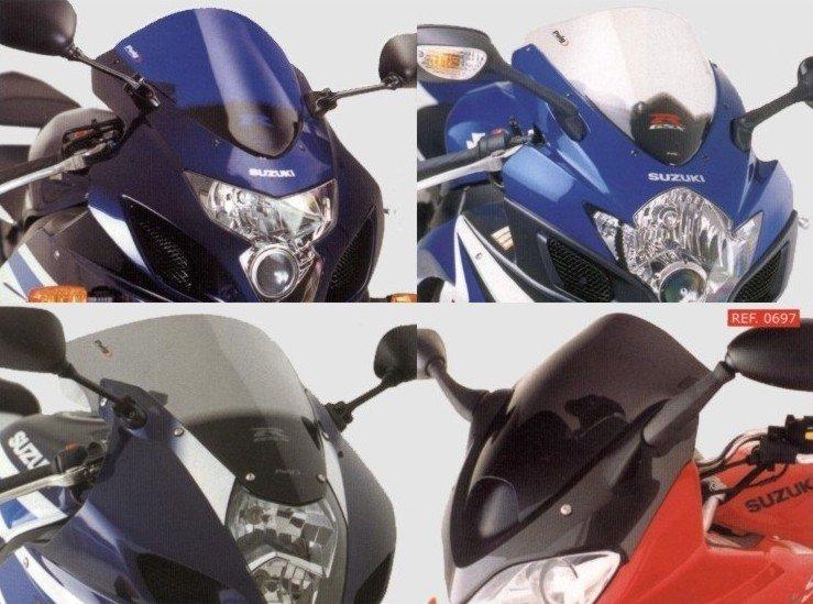 Plexi štít PUIG Standard Suzuki GSX-R 1000 (07-08) Tmavá (F)
