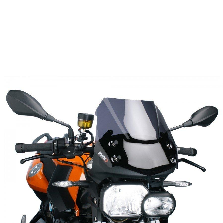 """Puig 5051 Windscreens """"Naked New Generation"""" BMW F800 R (09-14) Tmavá (F)"""