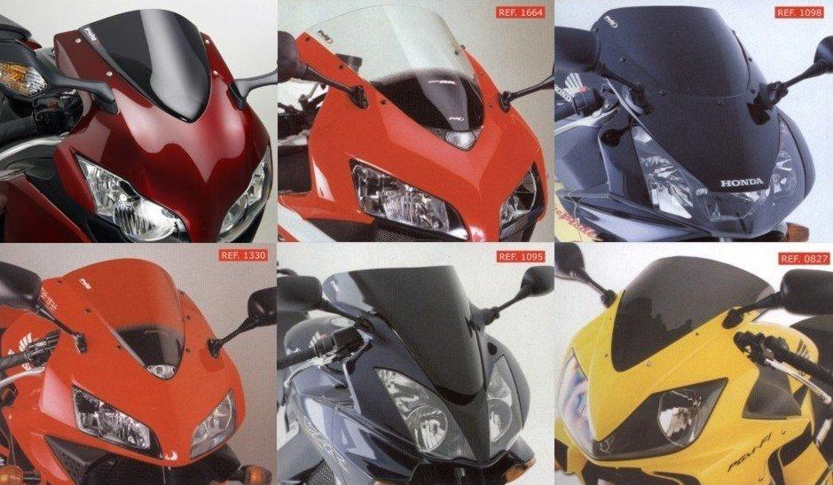 Plexi štít PUIG Standard Honda CBR 1000 F (93-00) Červená (R)