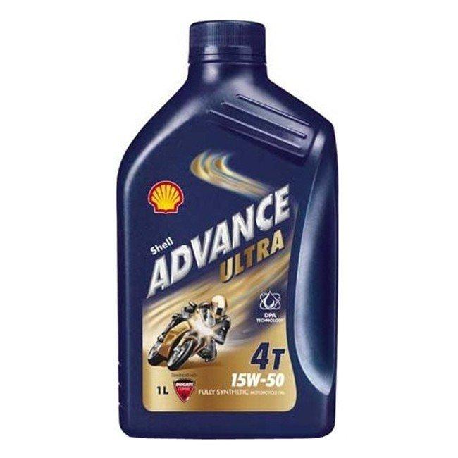 Shell Advance Ultra 4T 15W-50, 1 l