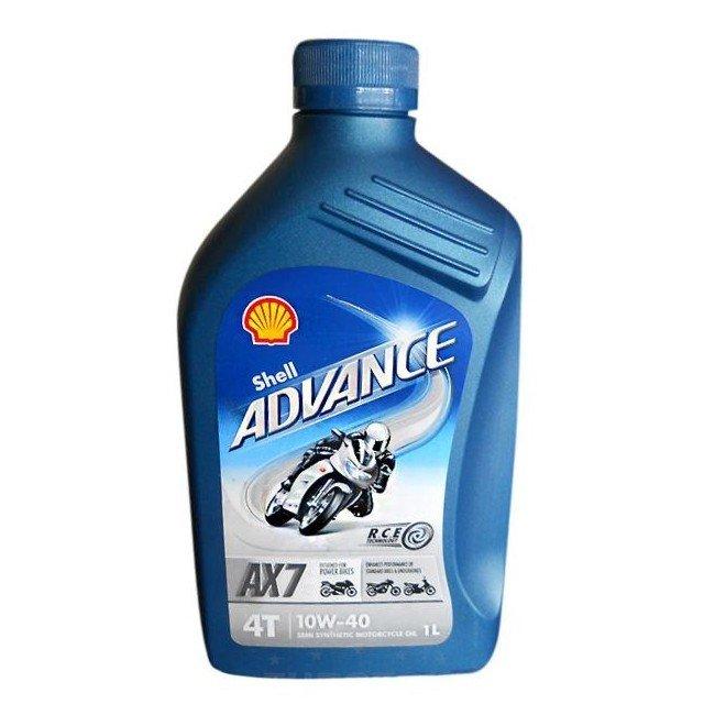 Shell Advance 4T AX7 10W-40, 1 l