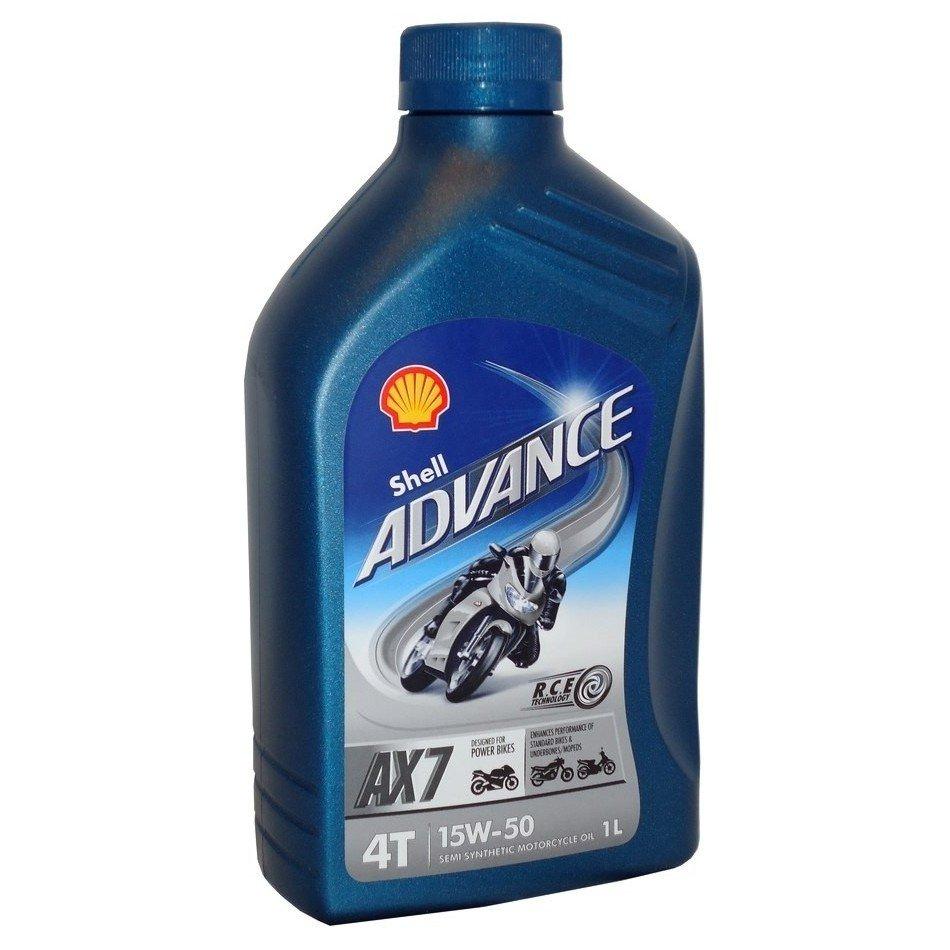Shell Advance 4T AX7 15W-50, 1 l