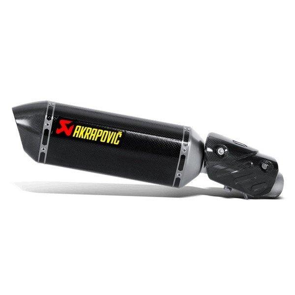 Akrapovič Slip-On Line Carbon Kawasaki Ninja ZX-6R/636 (09-16)