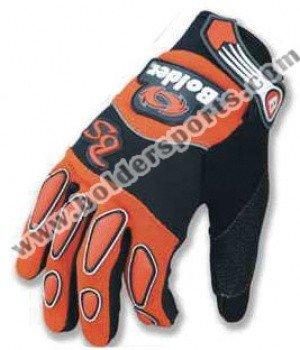 Motokrosové rukavice BOLDER Cross 154 (oranžové) S