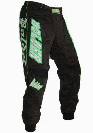 Bolder Kalhoty Cross 38 Black/Green 22