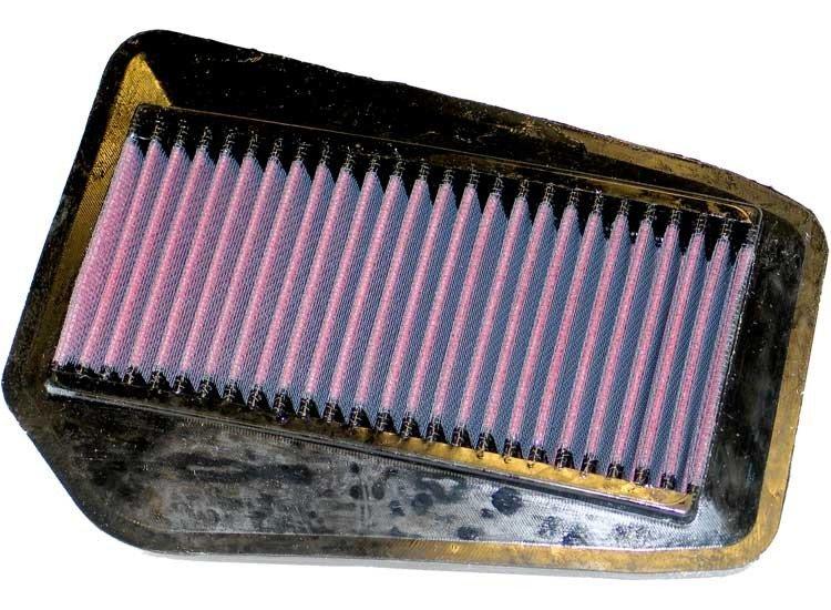 Vzduchový filtr pro motocykly Honda K&N HA-1502