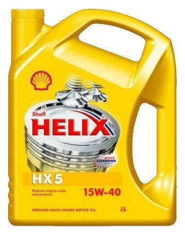 Minerální motorový olej SHELL Helix HX5 15W-40 4L