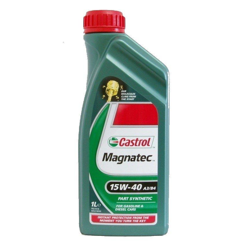 Polosyntetický motorový olej CASTROL Magnatec 15W40 A3/B4 1L