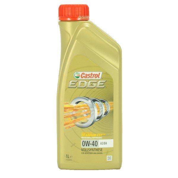 Plně syntetický motorový olej CASTROL Edge 0W40 A3/B4 Titanium FST 1L