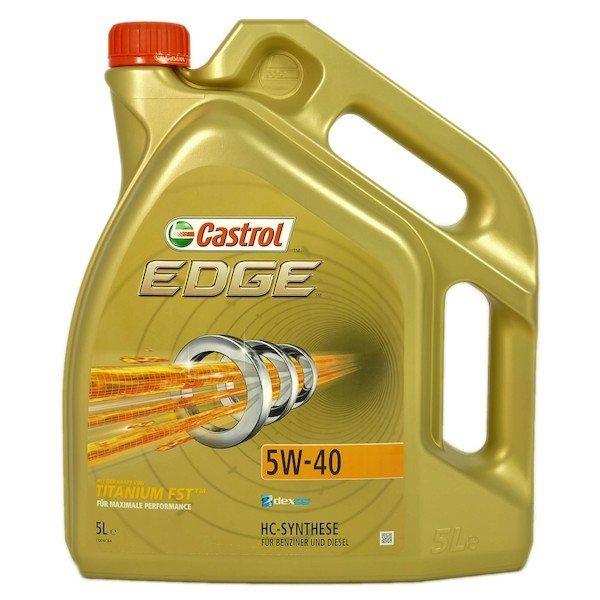 Castrol Edge 5W-40 Titanium FST 5L