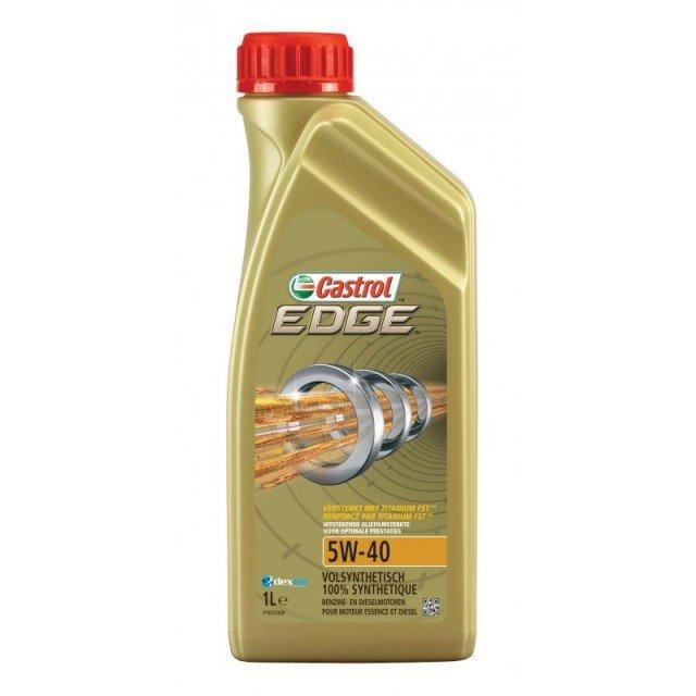 Plně syntetický motorový olej CASTROL Edge 5W40 Titanium FST 1L