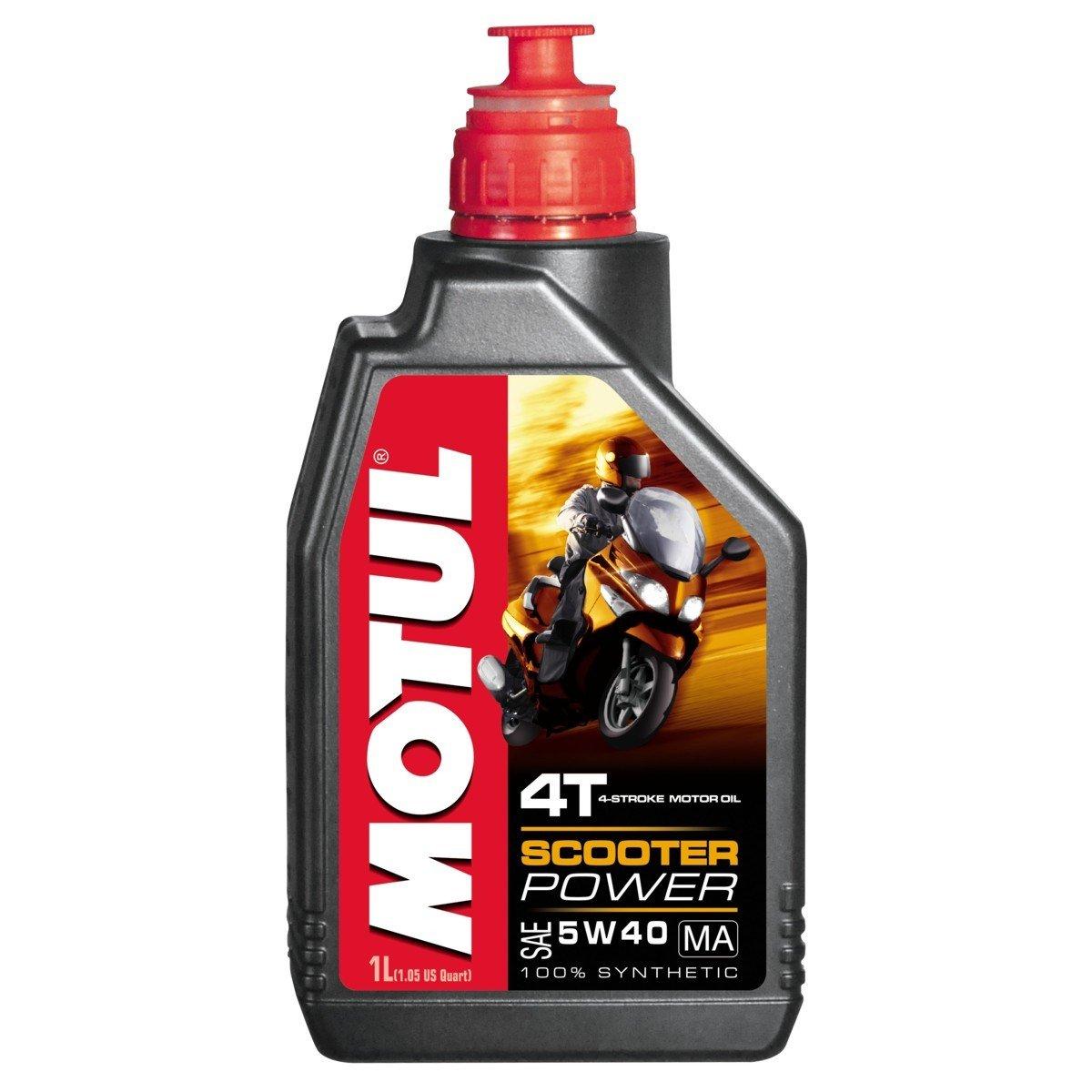 Plně syntetický motorový olej MOTUL Scooter Power 4T 5W40 1L