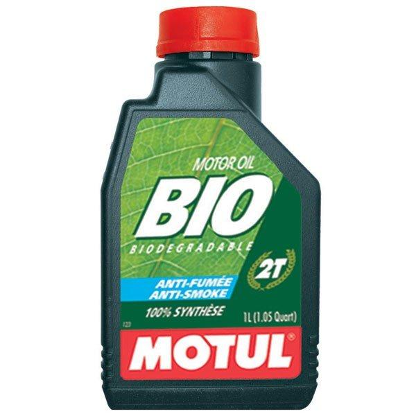 Syntetický motorový olej MOTUL Bio 2T Anti Smoke 1L