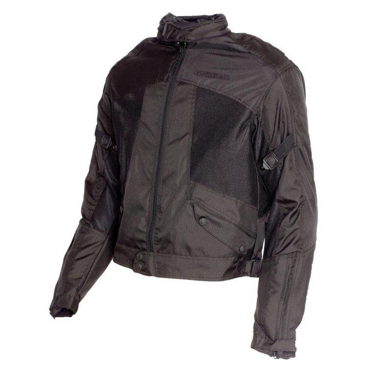 Pánská textilní bunda LOOKWELL Airflow (černá) 5XL