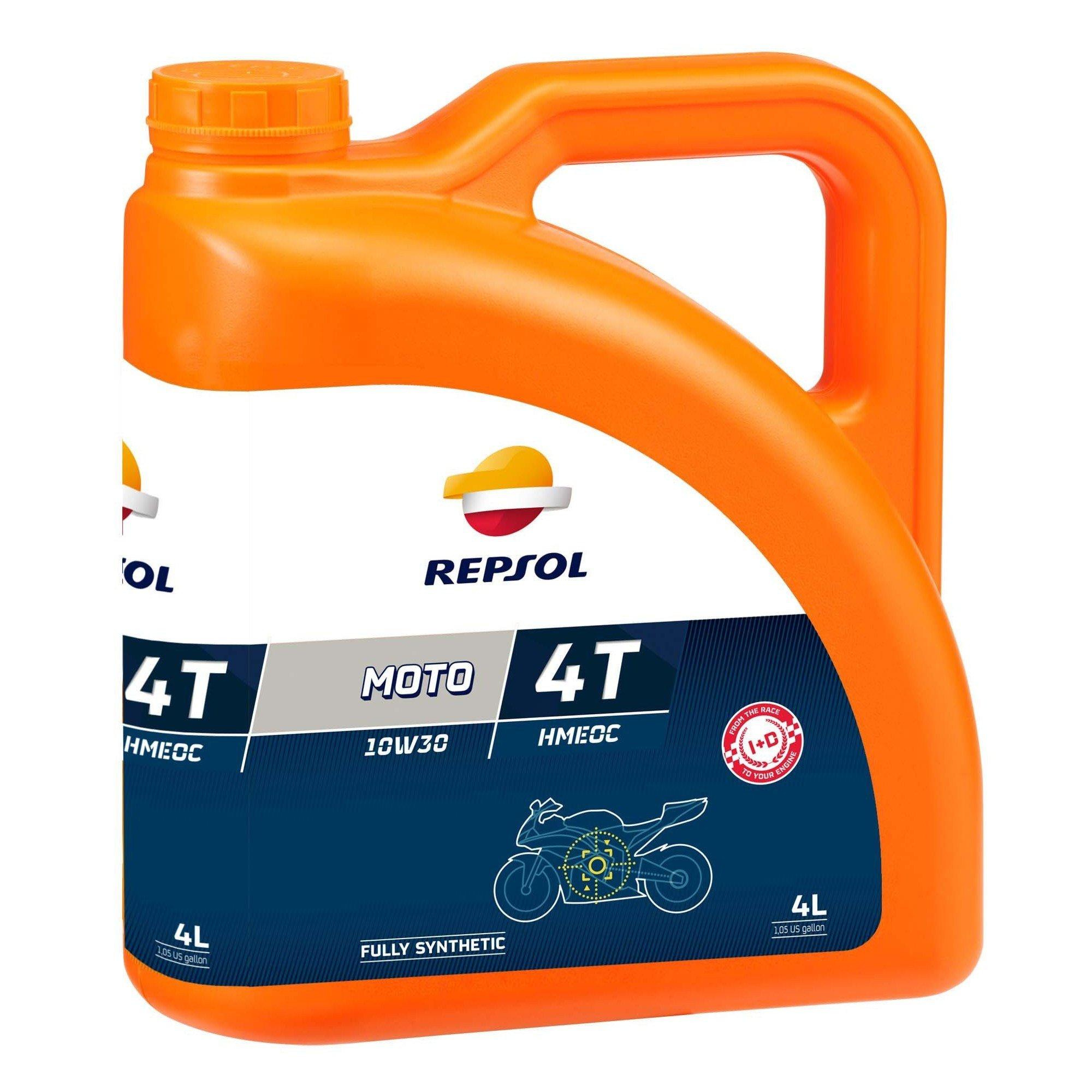 Repsol Moto HMEOC 4T 10W30, 4L