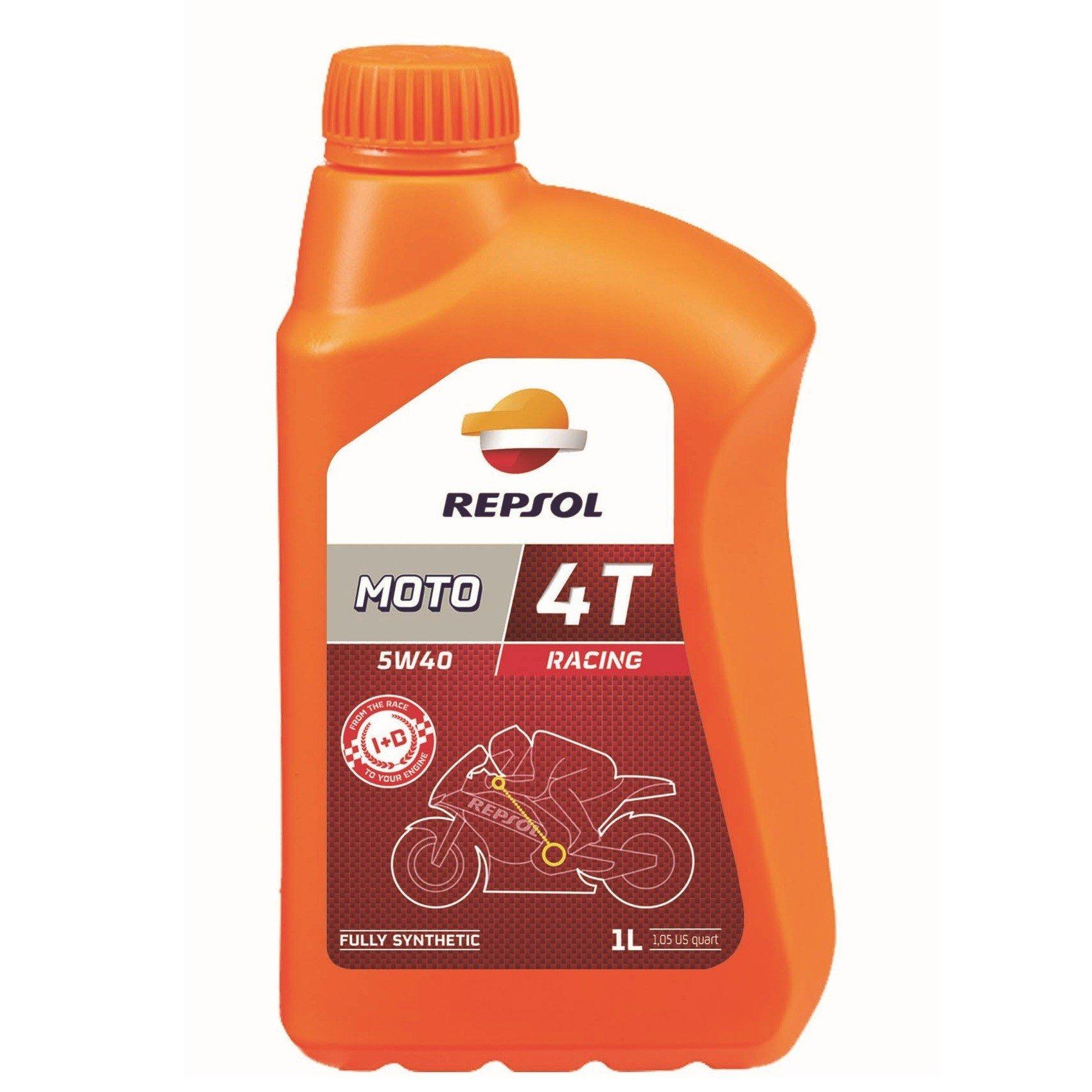 Repsol Moto Racing 4T 5W40, 1L