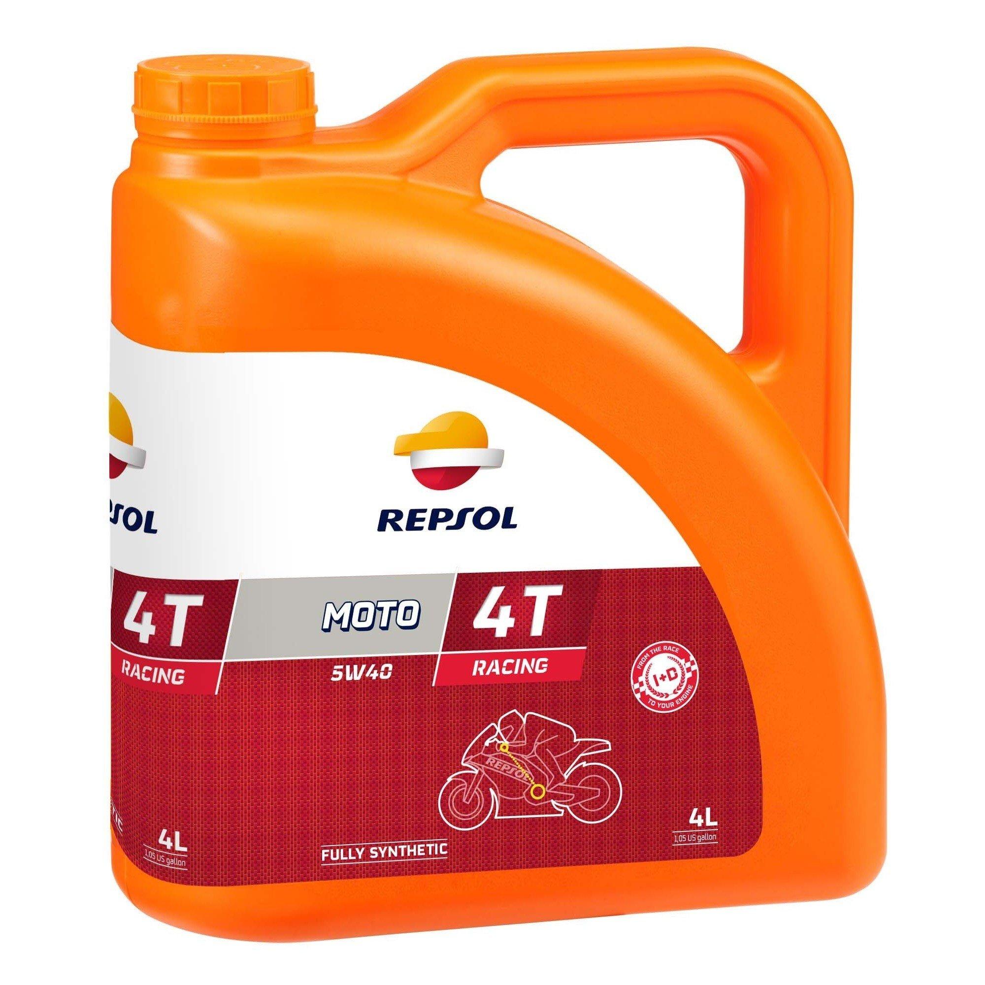 Repsol Moto Racing 4T 5W40, 4L