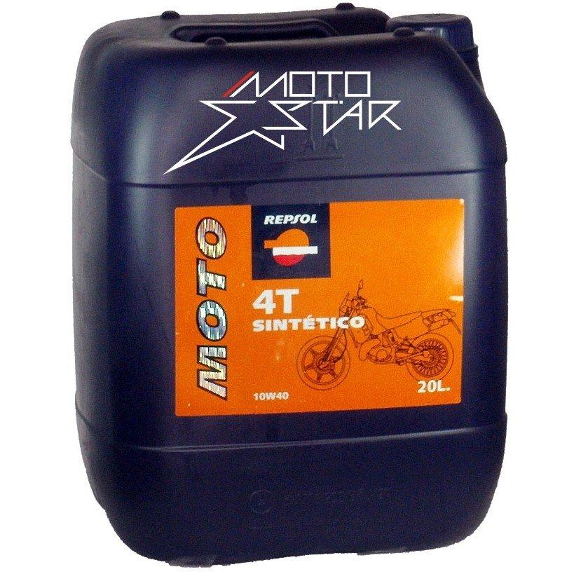 Repsol Moto Sintetico 4T 10W-40, 20 l