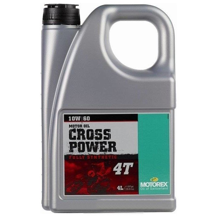 Motorex Cross Power 4T 10W-60, 4 l