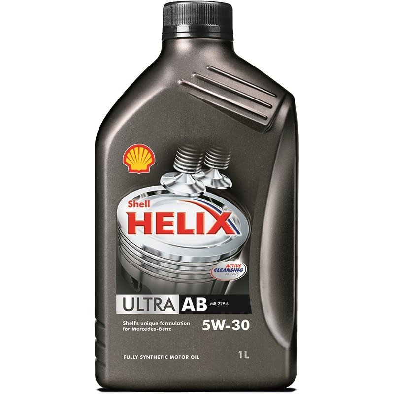 Plněsyntetický motorový olej SHELL Helix Ultra AB 5W-30 1L
