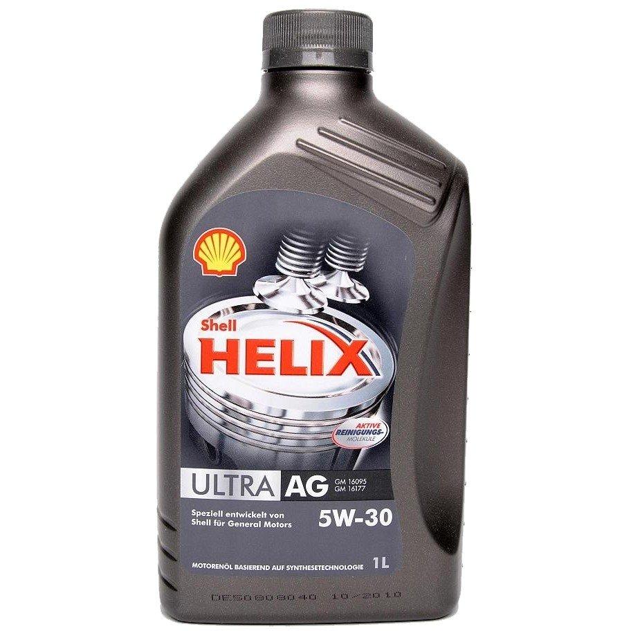 Plněsyntetický motorový olej SHELL Helix Ultra AG 5W-30 1L