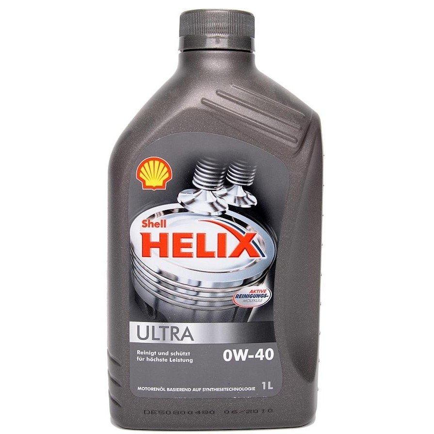 Plně syntetický motorový olej SHELL Helix Ultra 0W-40 1L