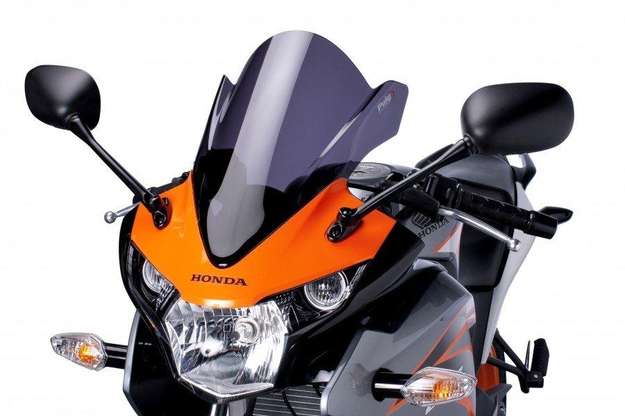Plexi štít PUIG Racing Honda CBR 125 R (11-13) Čirá (W)