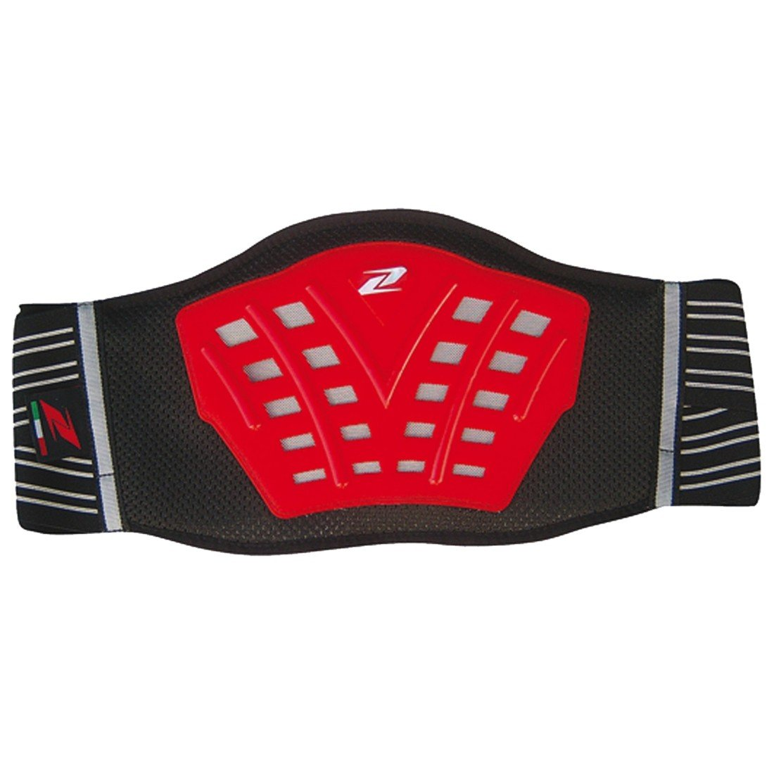 ZANDONA Kidney Belt Cross Red L