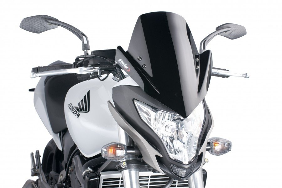 "Puig 5644 Windscreens ""Naked New Generation"" Honda CB 600F Hornet (11-15) Čirá (W)"