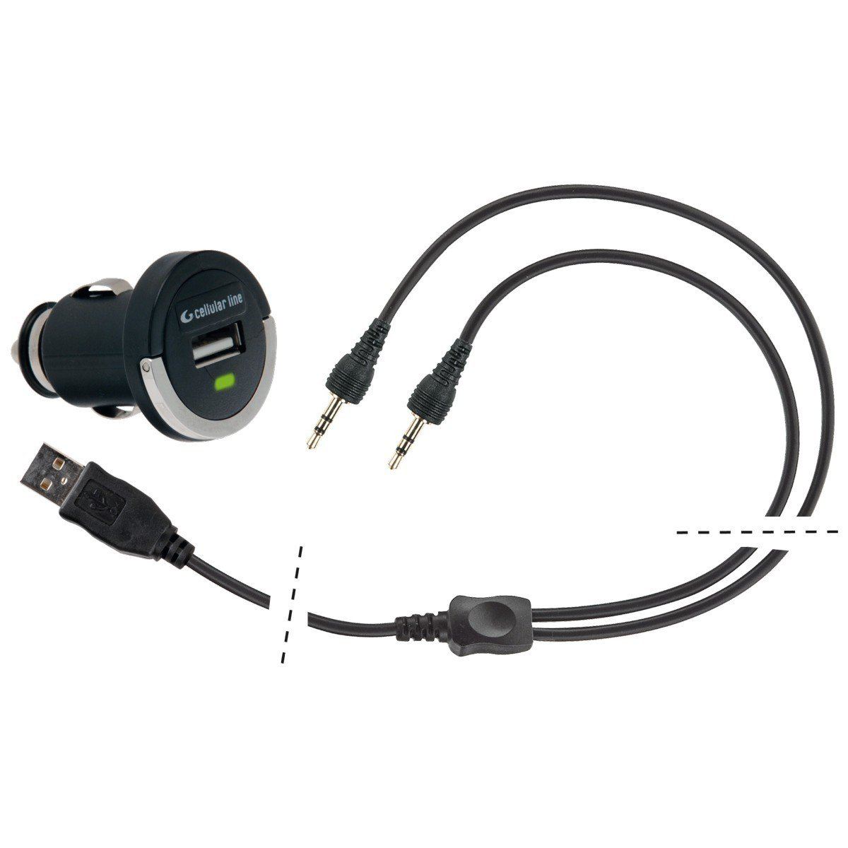 Cellularline USB Charging Cable Interphone (pro 2 jednotky)