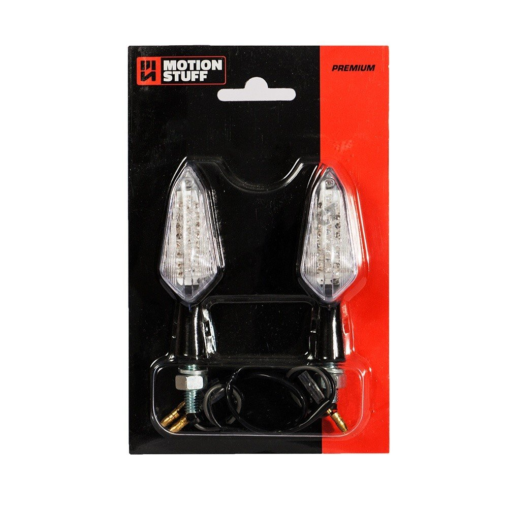 Motion stuff LED Mini Turn Lights black Premium 1