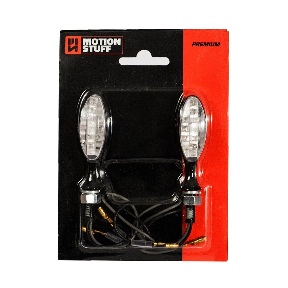 Motion stuff LED Mini Turn Lights black Premium 2