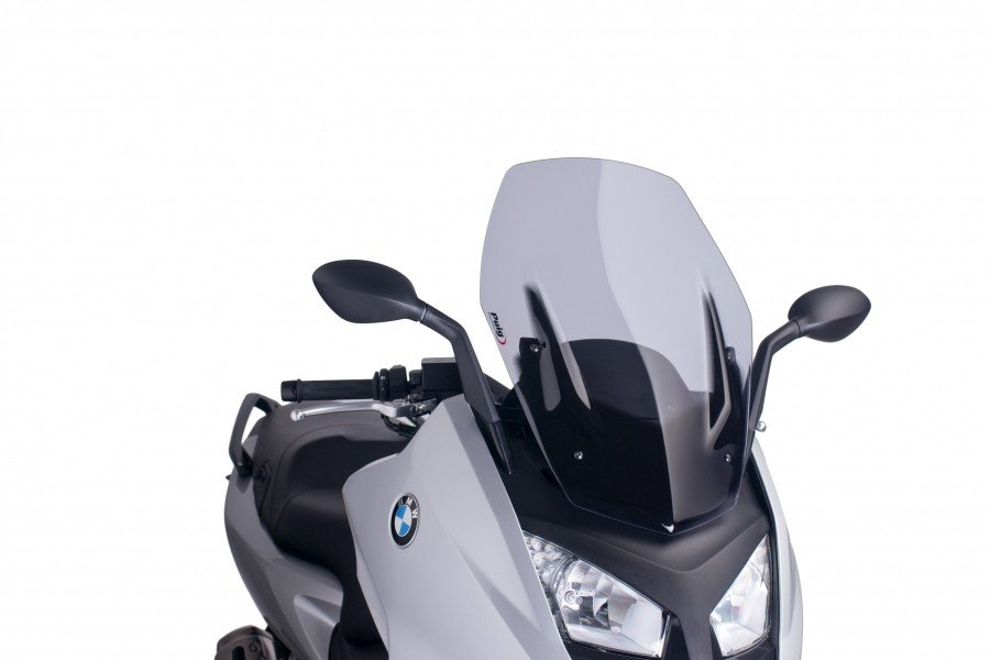"Puig 6031 Windscreen ""V-Tech Line Sport"" BMW C600 Sport (12-13) Čirá (W)"