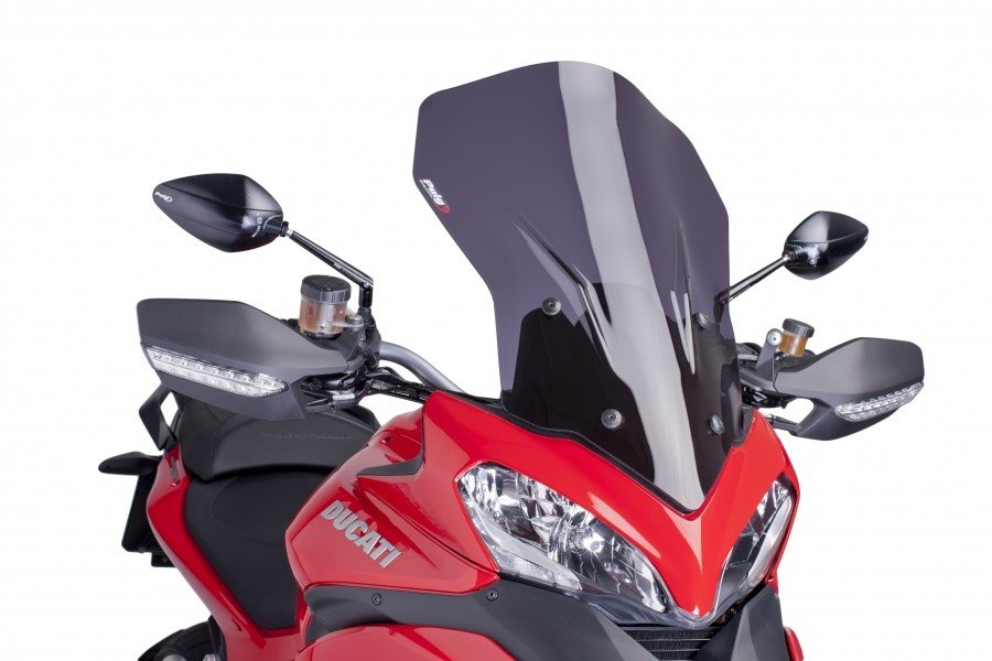 Puig 6491 Touring Screens Ducati Multistrada 1200/S (13-14) Čirá (W)