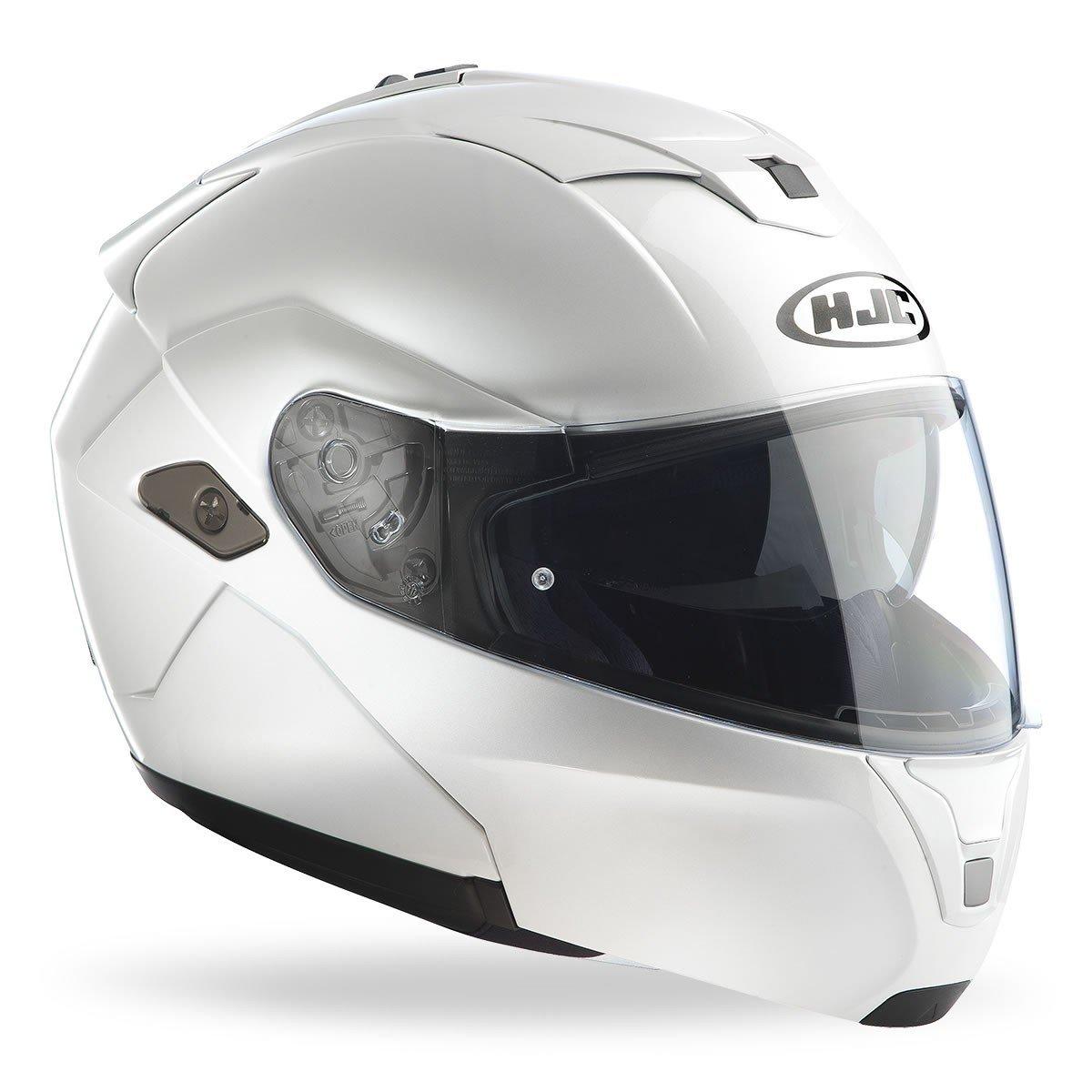 HJC SY-MAX 3 Metal Pearl White Ryan XS (53/54)