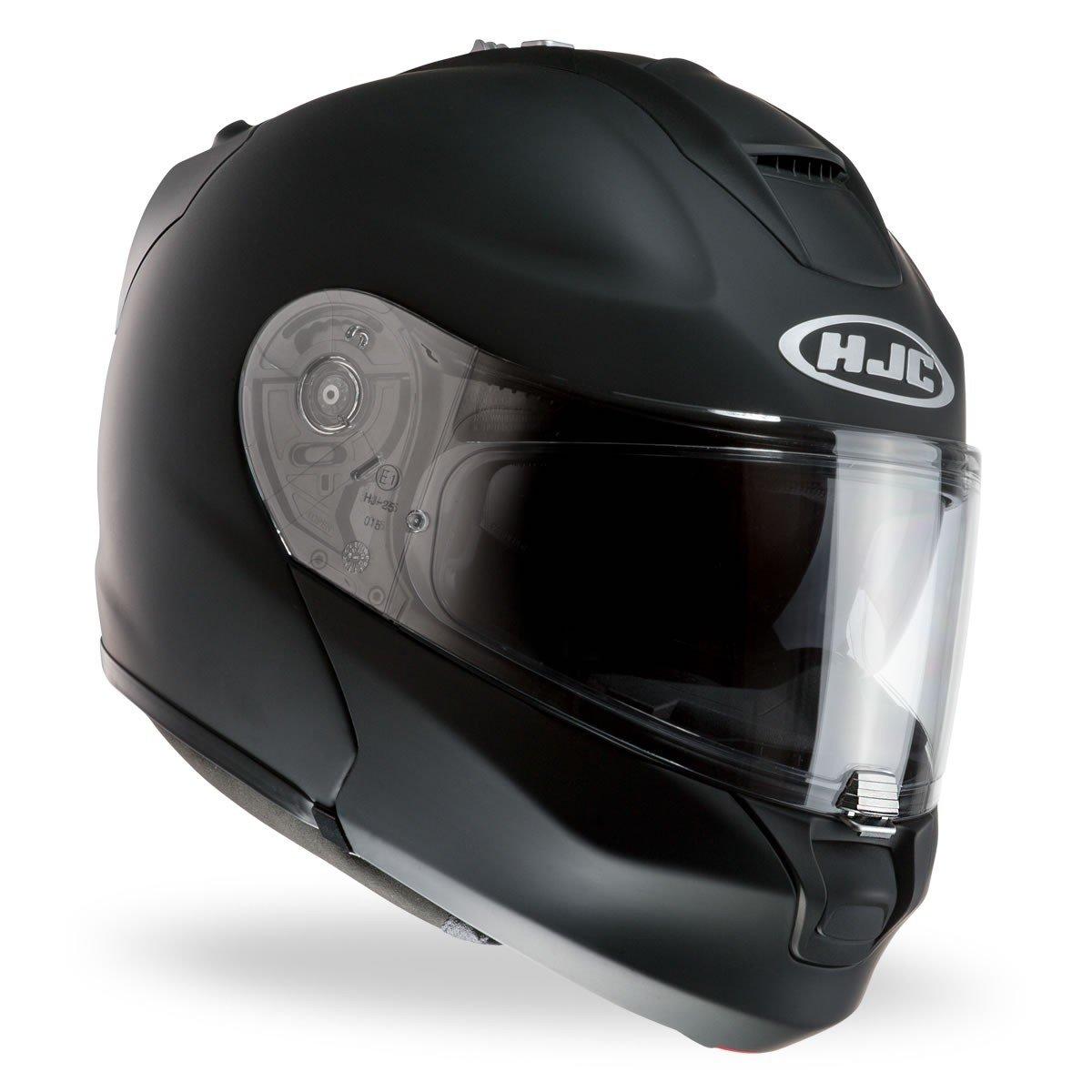 Výklopná motocyklová přilba HJC RPHA MAX Evo Rubbertone (matně černá) XS (53/54)