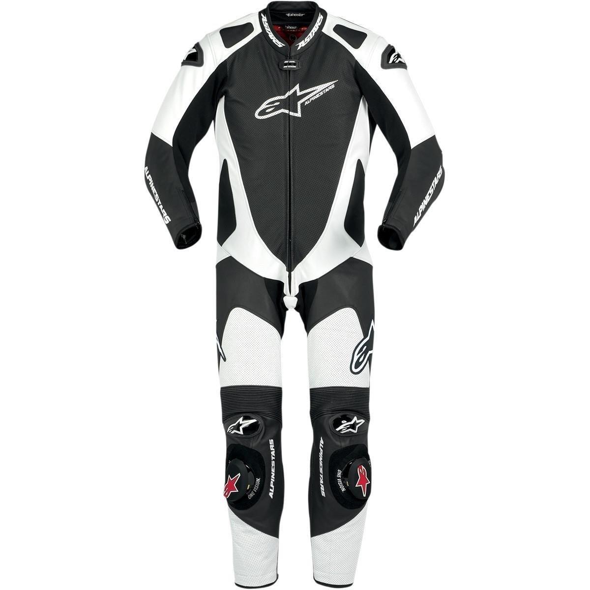 Jednodílná motocyklová kombinéza ALPINESTARS GP Pro (černo/bílá) 56