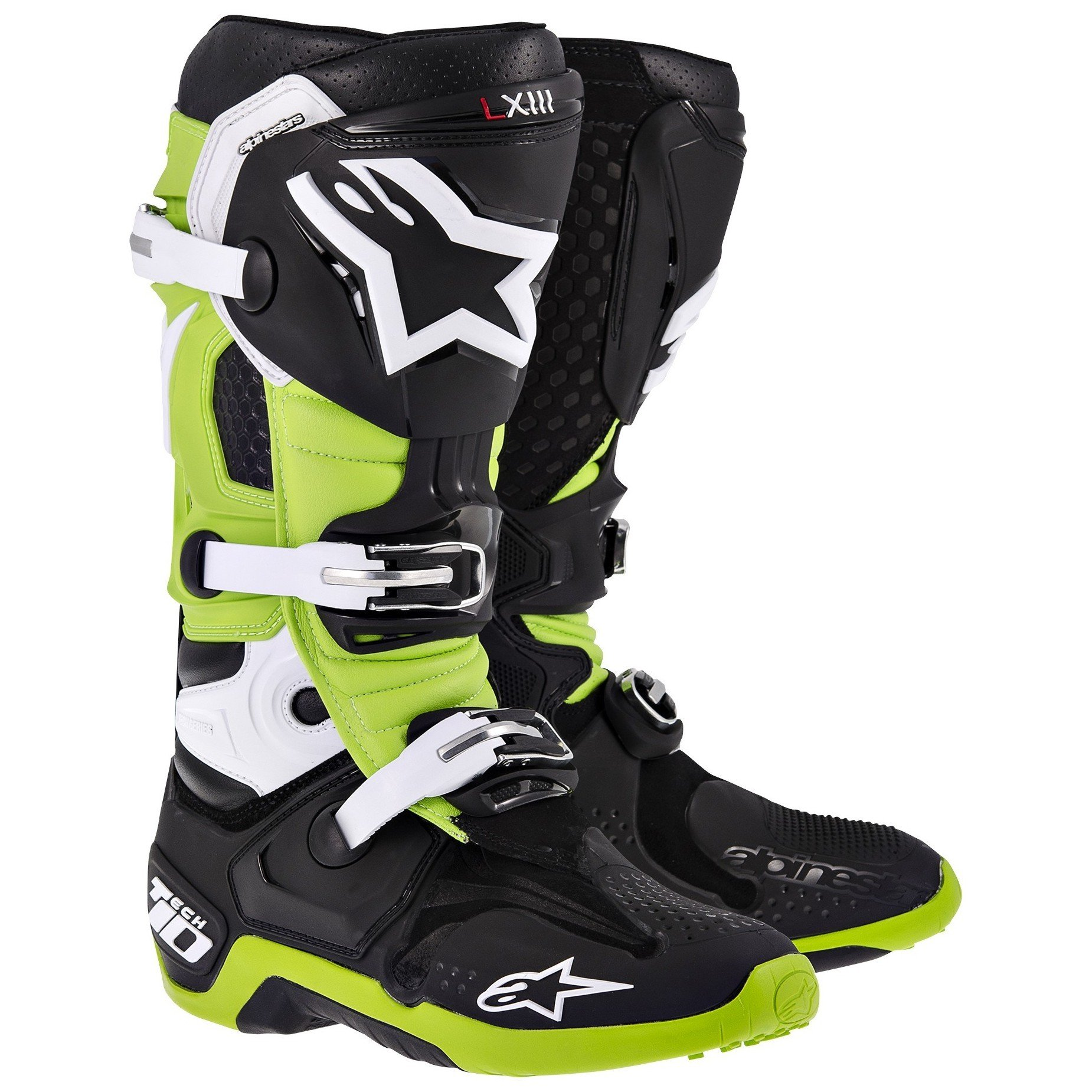 Alpinestars TECH 10 Black/Green 13 (48)