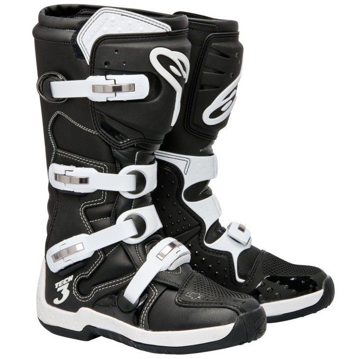 Alpinestars TECH 3 Black/White 13 (48)