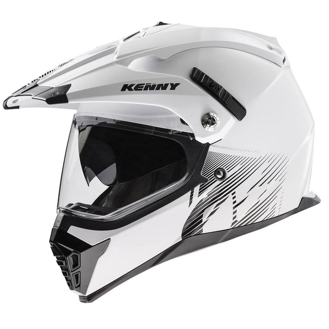 Motocyklová enduro přilba KENNY XTR 14 (bílá) XS (53/54)