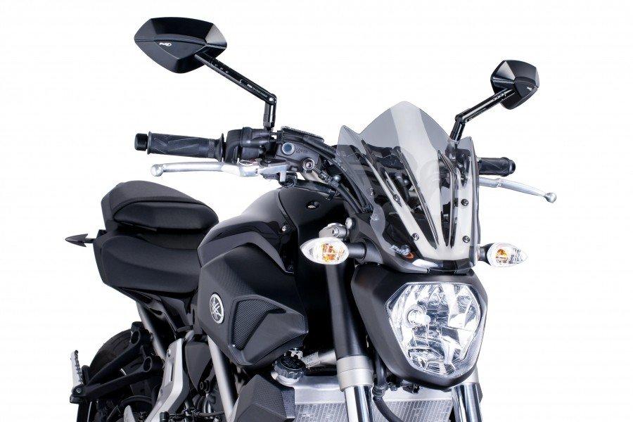 "Puig 7015 Windscreen ""Naked New Generation Sport"" Yamaha MT-07 (14-16) Čirá (W)"