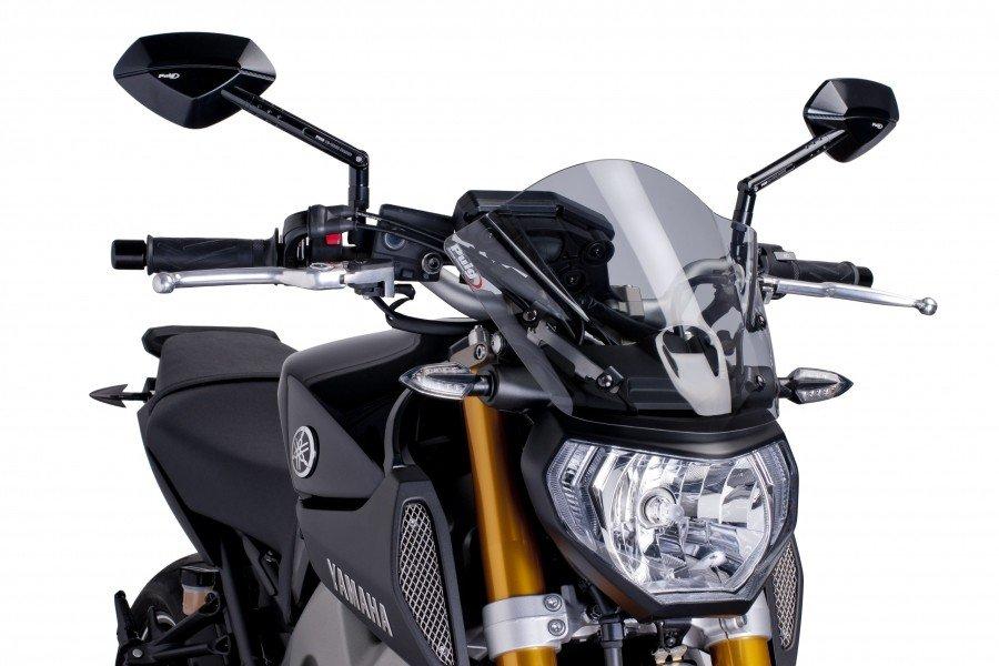 "Puig 6859 Windscreen ""Naked New Generation Sport"" Yamaha MT-09 (13-15) Čirá (W)"