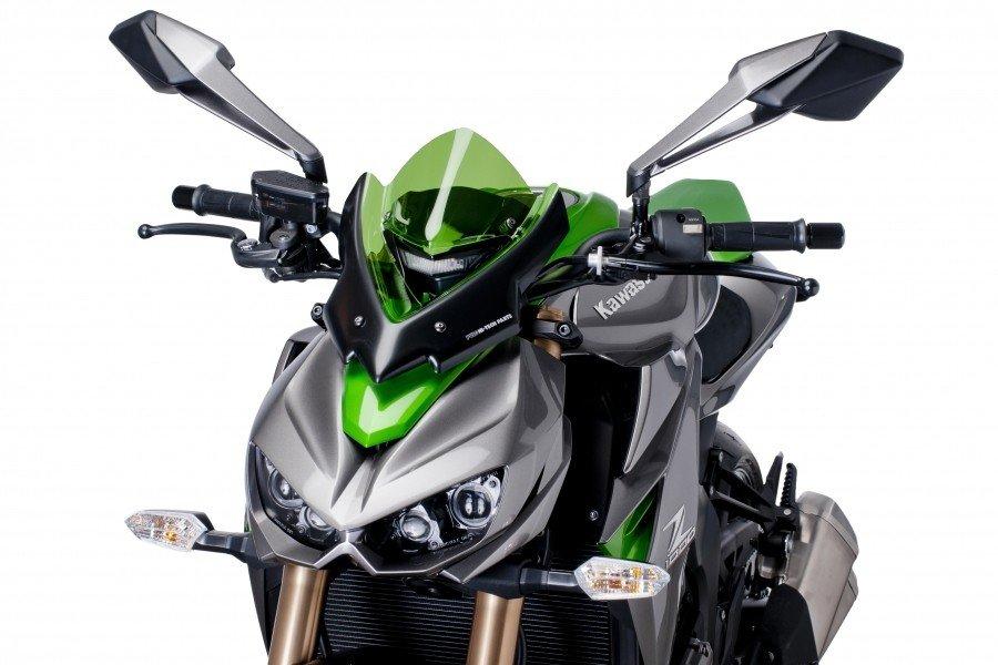 "Puig 7011 Windscreen ""Naked New Generation Sport"" Kawasaki Z1000 (14-15) Čirá (W)"