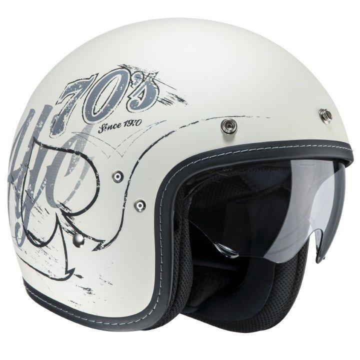 Otevřená motocyklová helma HJC FG-70s Rockers MC-10F XS (53/54)
