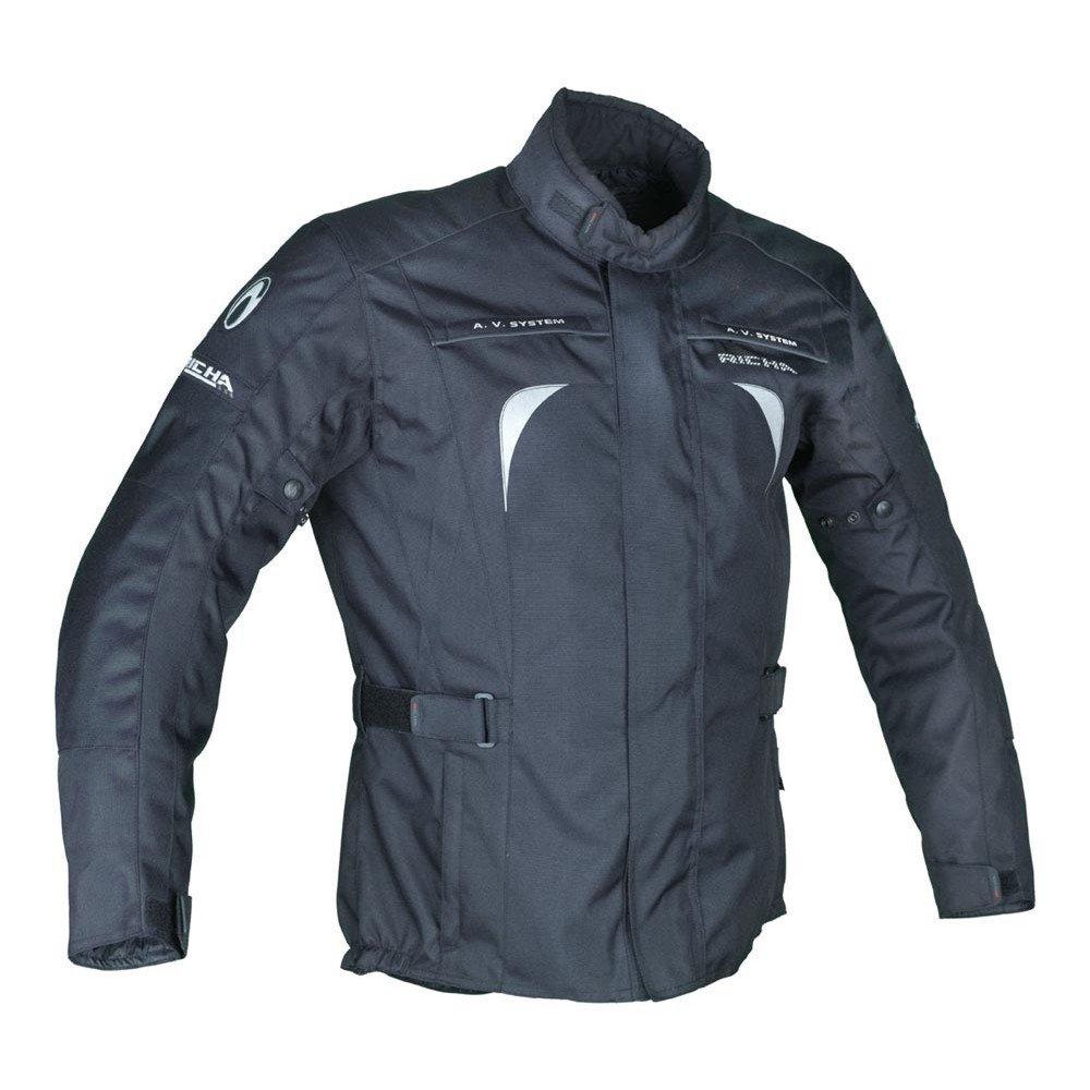 Pánská textilní bunda RICHA Sprint (černá) 5XL