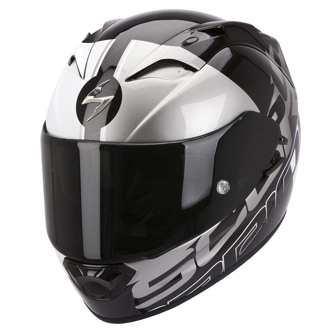 Scorpion EXO 1200 AIR Quarterback Black/White/Silver XS (53/54)