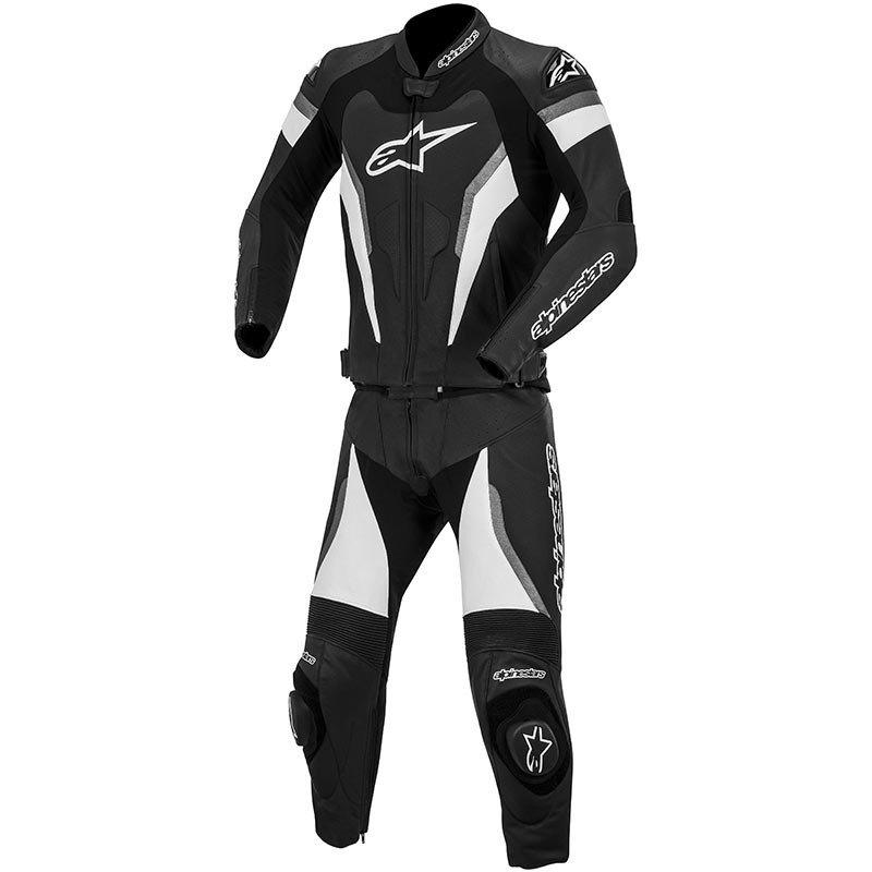 Dvoudílná motocyklová kombinéza ALPINESTARS GP Pro (černo/antracitová) 52