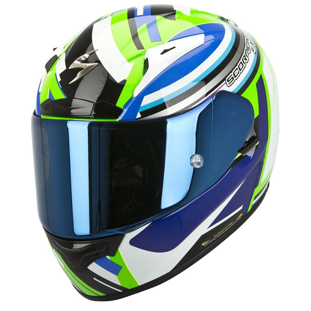 Scorpion EXO 2000 AIR Avenger Neon Green/Blue L (59/60)