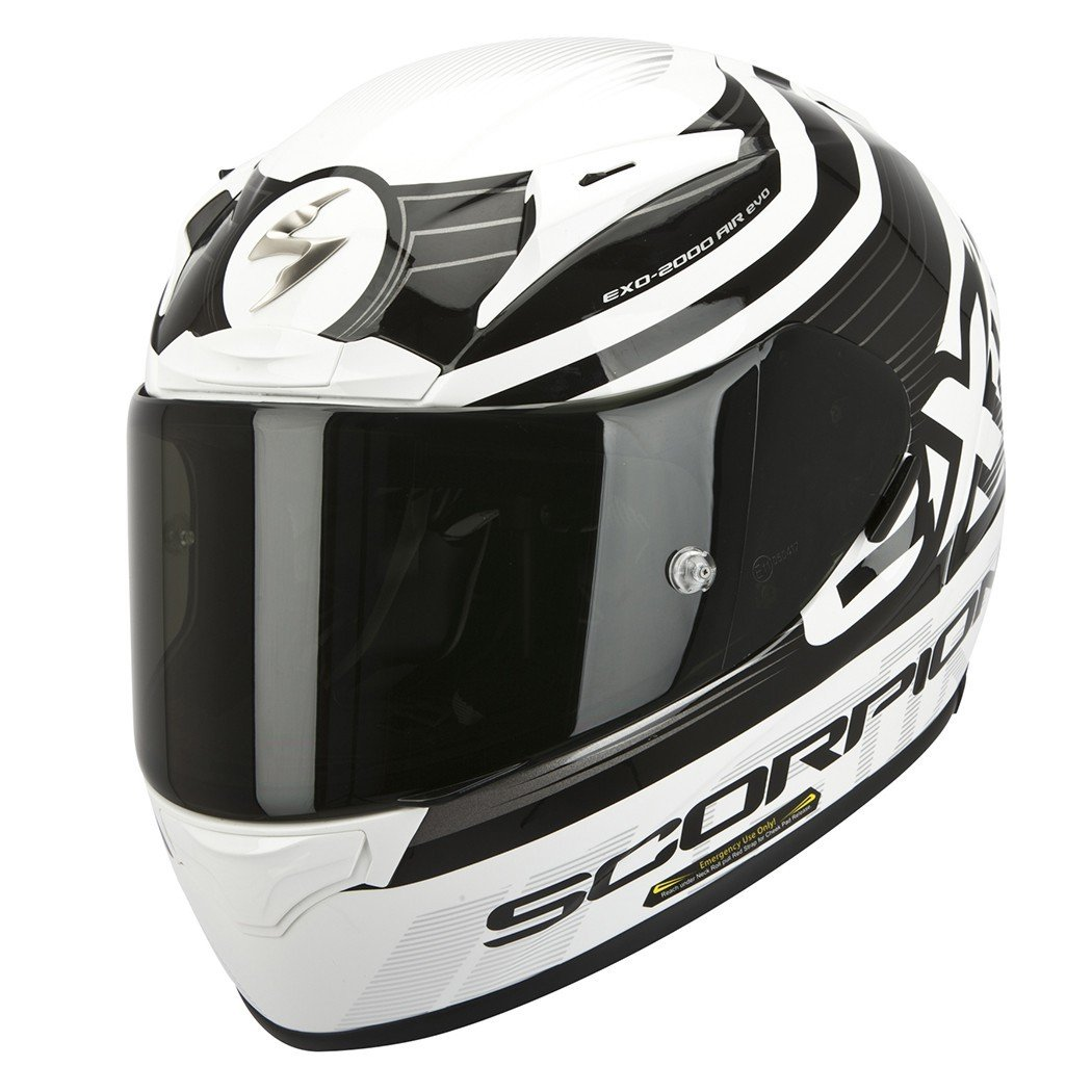 Scorpion EXO 2000 AIR Fortis Black/White L (59/60)