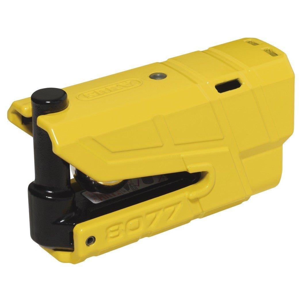 Bezpečnostní zámek na kotouč brzdy s alarmem a pohybovým čidlem 360° ABUS Granit Detecto 8077 (žlutý)